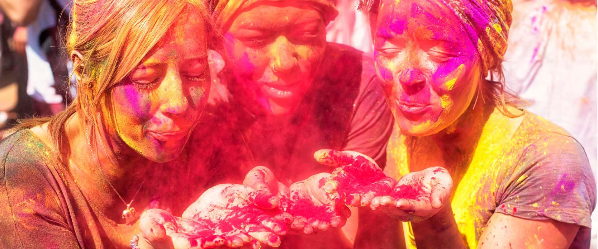 Festival Holi de India