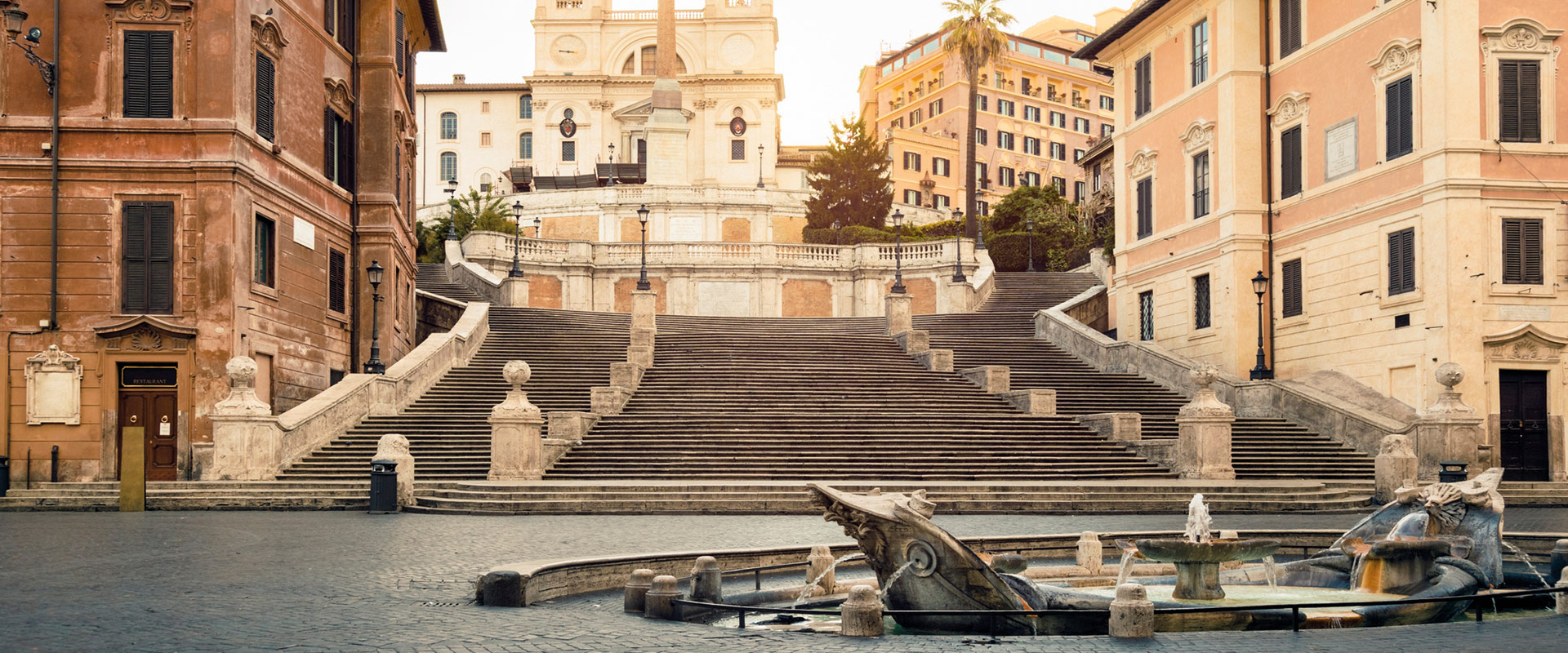 Piazza de Spagna, Roma