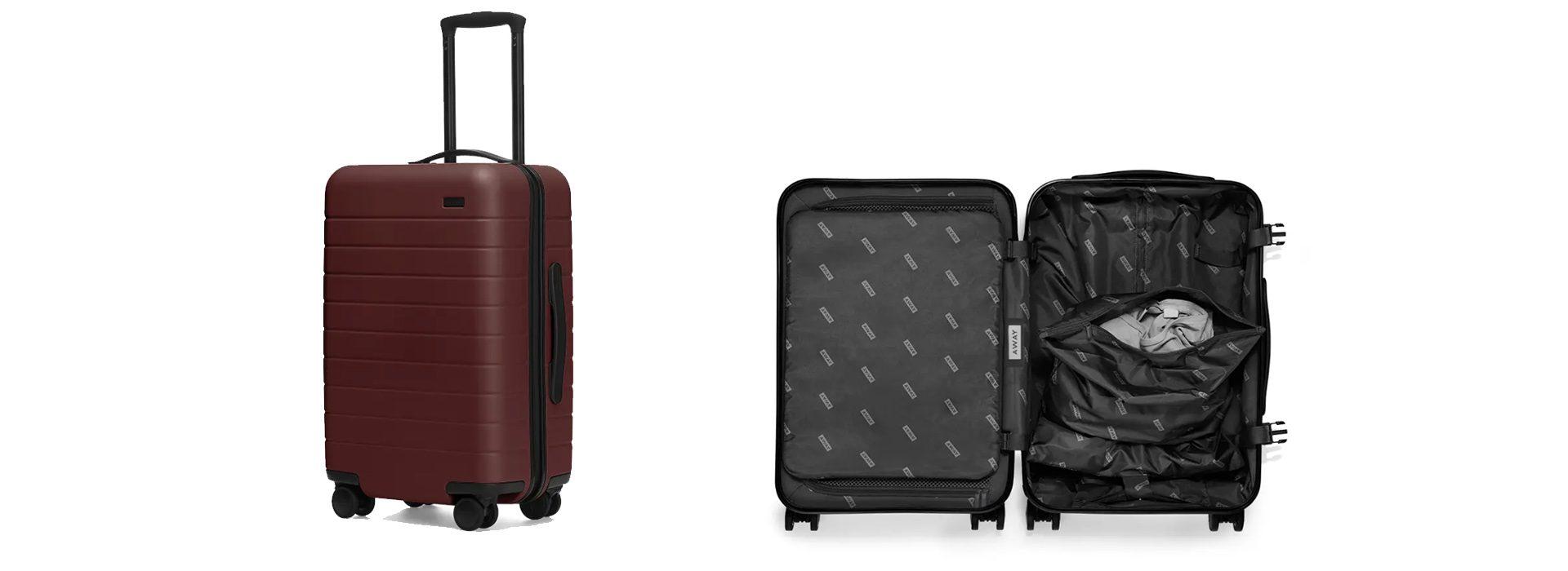 A cada viajero, su maleta