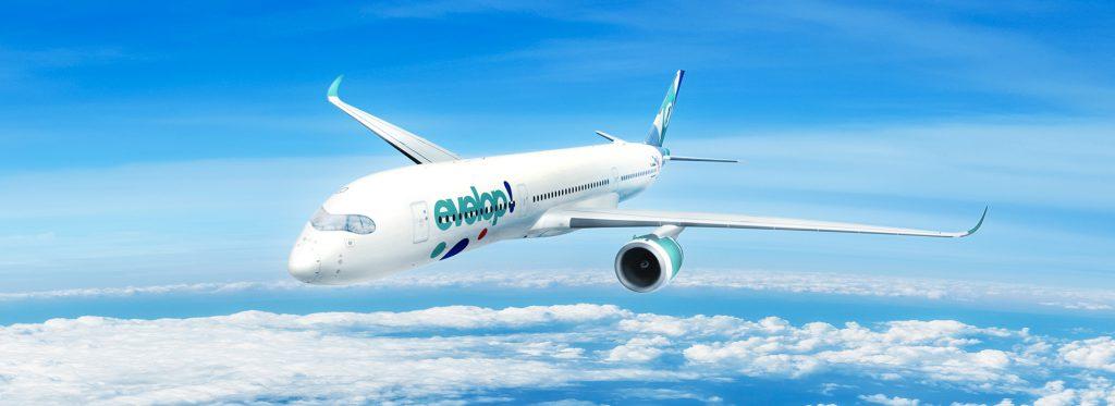Nueva incorporación del Airbus A350 900 a la flota de Evelop