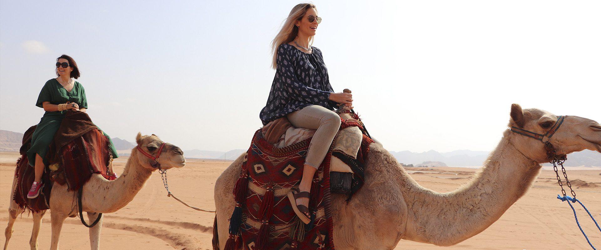 Viajeras con B Jordania. Un viaje de aventuras milenarias con Silvia Abril.