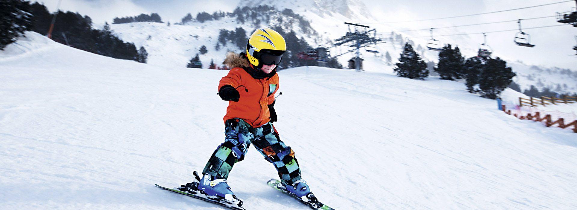 Las pistas de esquí son para el invierno