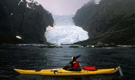 Patagonia Chilena-Dama Blanca