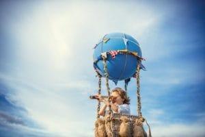 Hoy volamos con Willy Fog en un globo aerostático
