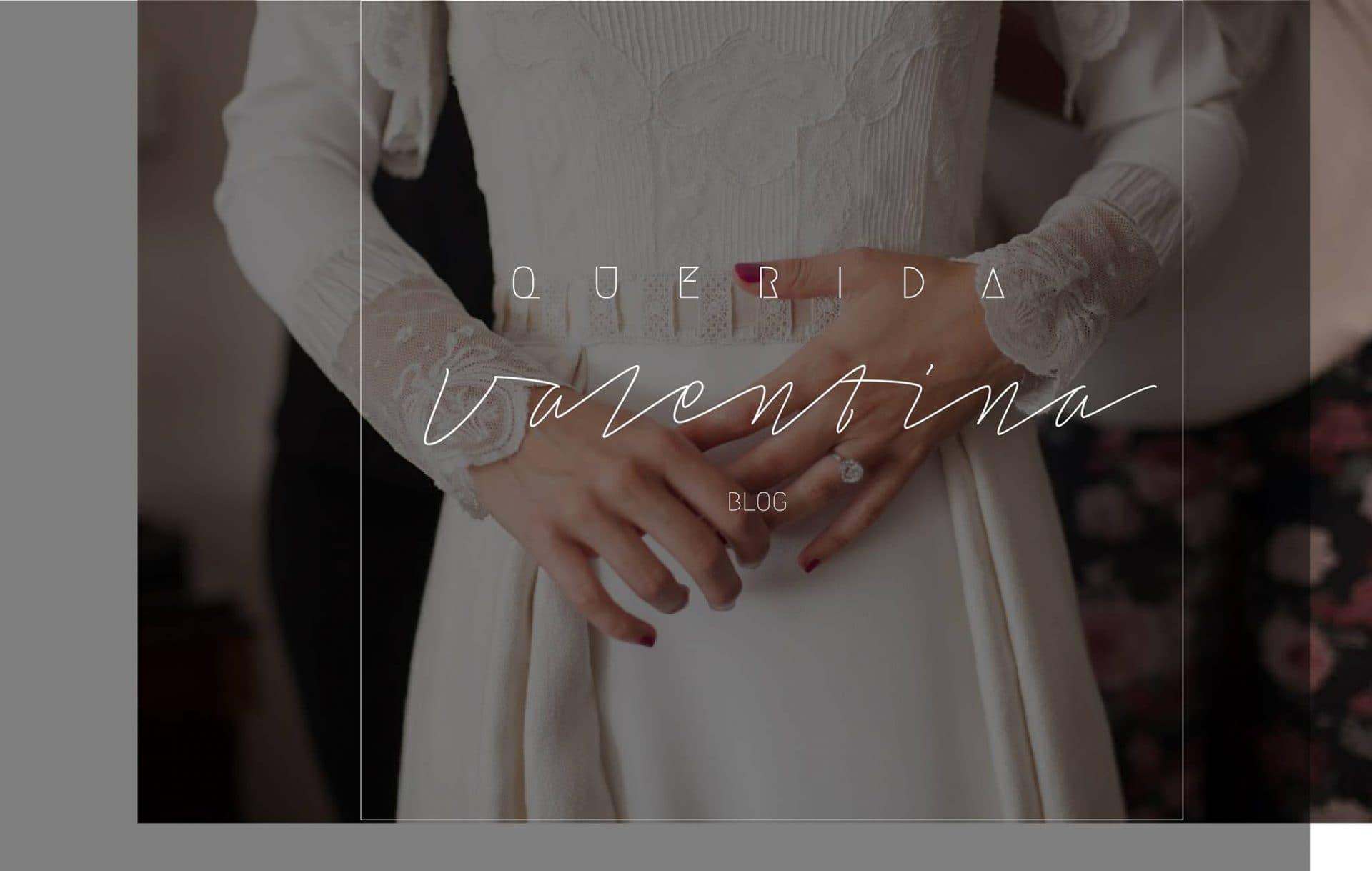 Calendario de belleza de la novia con Querida Valentina