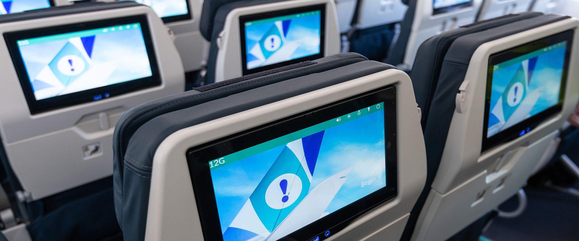 Sistema entretenimiento A350 Evelop!