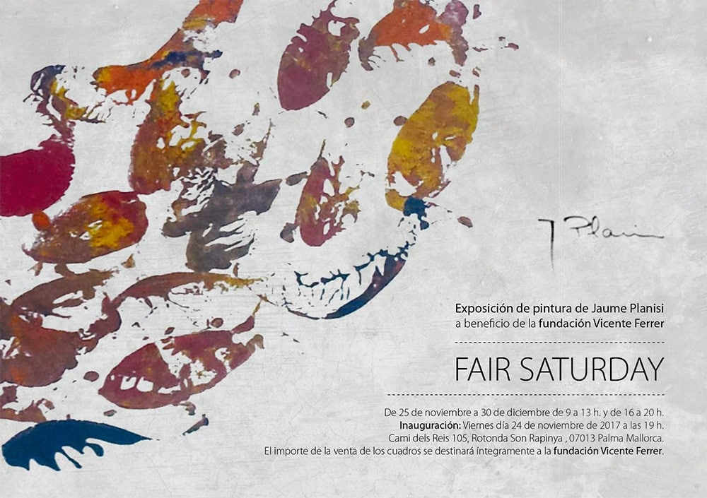 Exposición de jaume Planisi en Xperience Palma