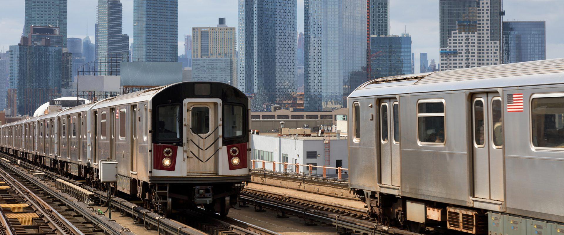 Metro en Queens, Nueva York