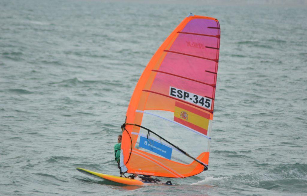 Andrea Torres Fullana en el mar
