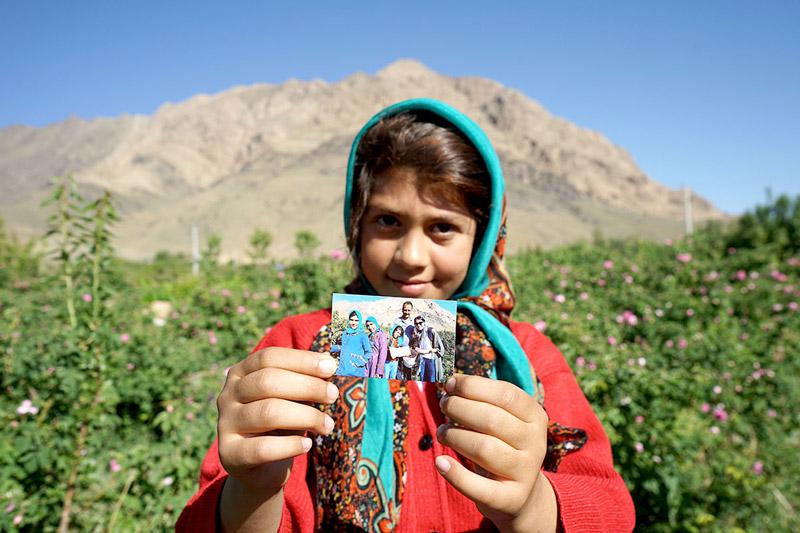 Kashan de la mano del padre del Couchsurfing en Irán