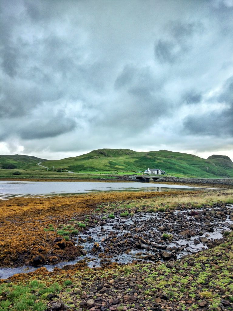 Lago Beag en Escocia