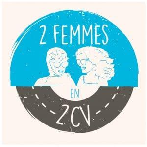 El viaje de dos mujeres en un 2CV.