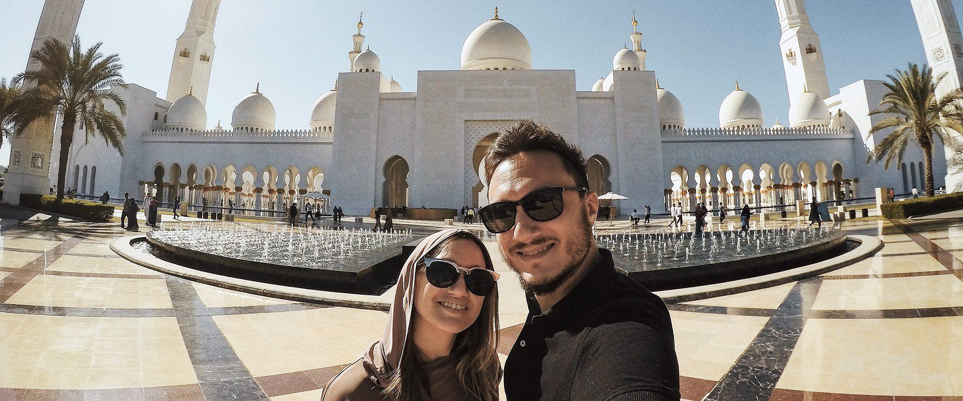 Visita a la Gran Mezquita de Abu Dhabi
