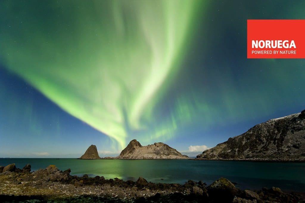 aurora boreal; noruega