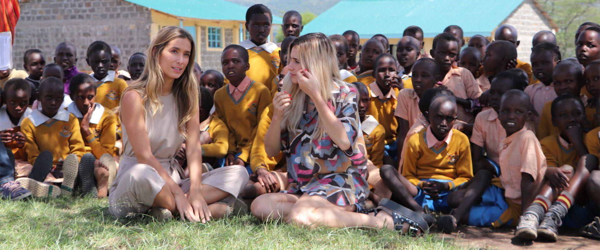 Viajeras con B Kenia. El viaje solidario de María Pombo.