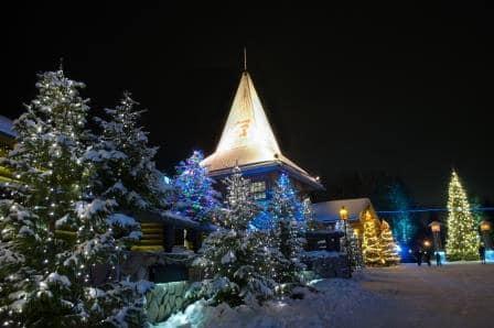 Fin de año diferente en Laponia