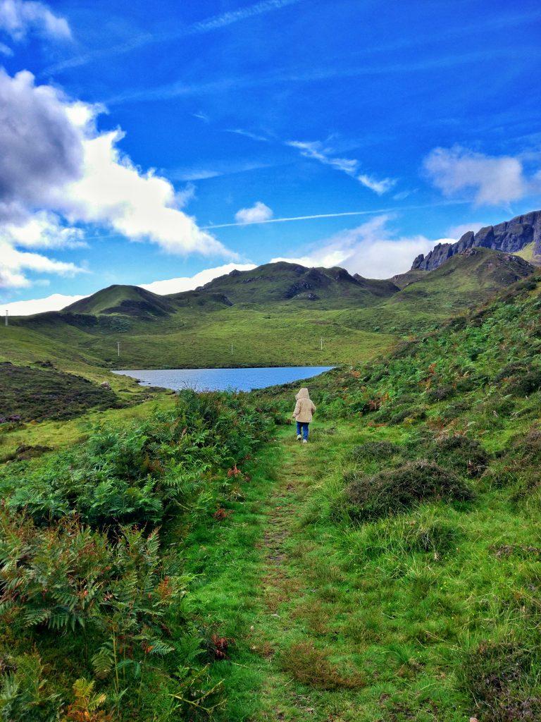 Valle de Quiraing en Escocia