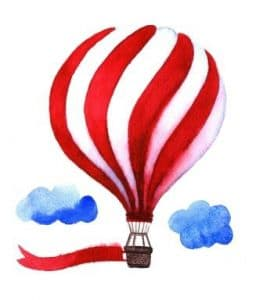 Club small travellers: globo aerostático