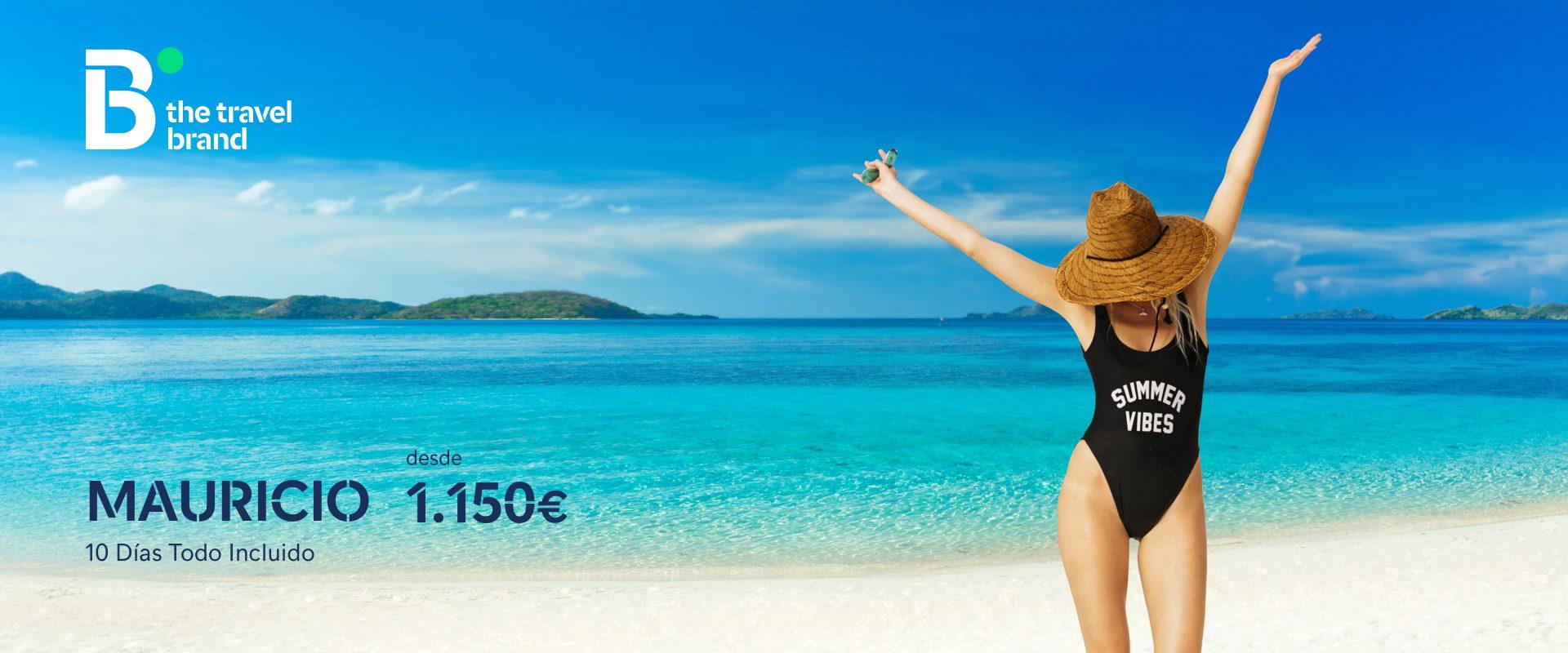 ofertas Mauricio - B the travel brand