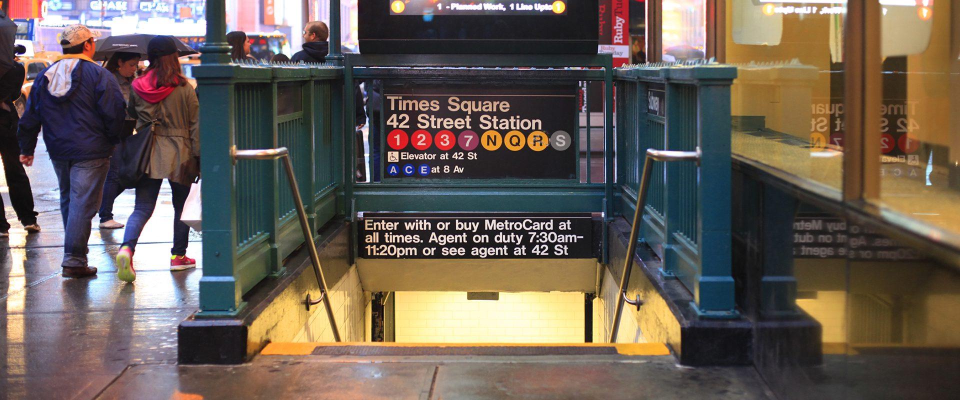 Metro Times Square, Nueva York