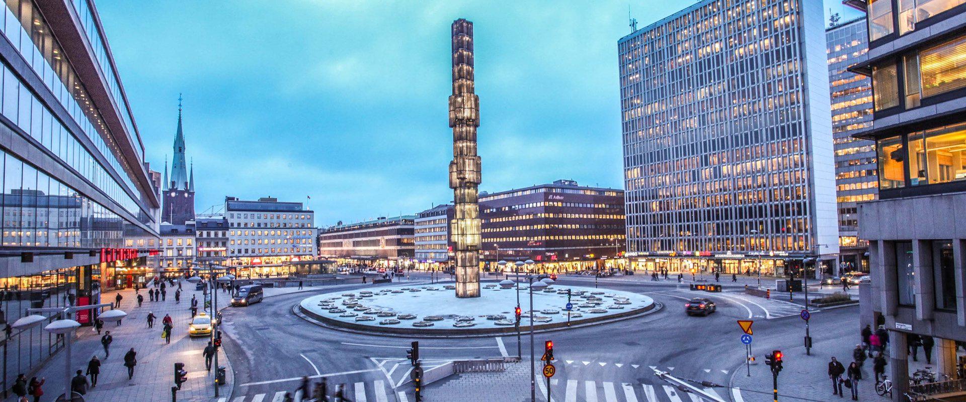 Sergels - Viajeros con B - Estocolmo