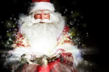 Papá Noel nos hace una visita en Xperience Palma