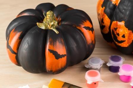 Decora las calabazas más monstruosas de Halloween