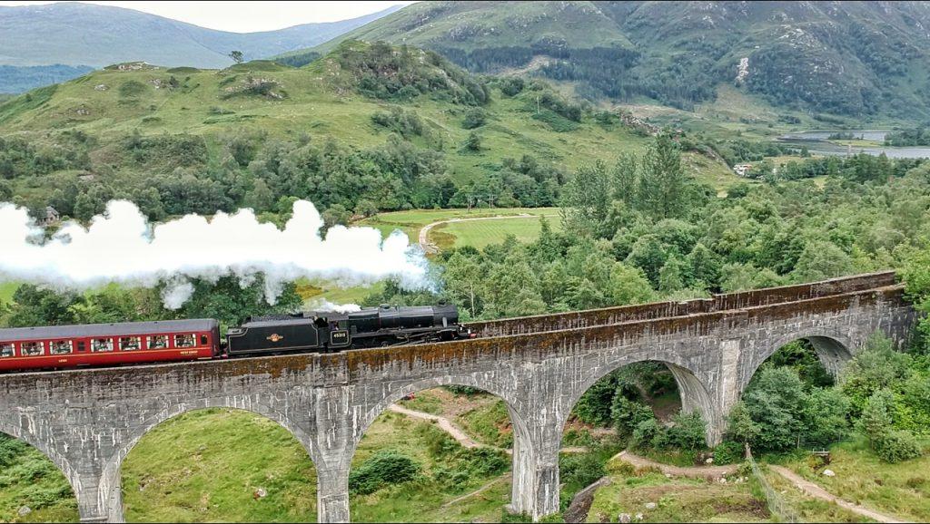 Viaducto de Glenfinnan en Escocia