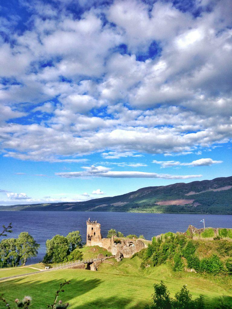 Castillo de Urquhart en Escocia