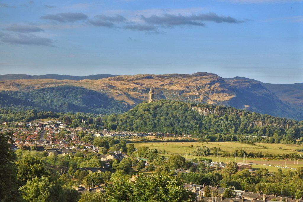 Monumento William Wallace en Escocia